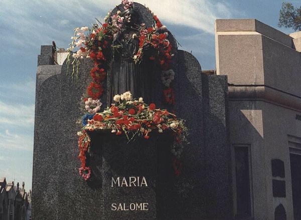 Mausoleo de la Madre María en el Cementerio Oeste (Chacarita) en la ciudad de Buenos Aires.